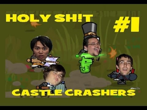 Castle Crashers Part 1:  Holy Sh!t, Mid Battle Felatio!