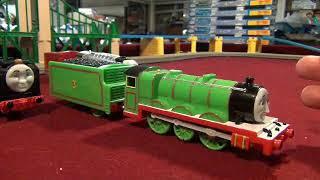 New 7 Custom Trackmaster Thomas Trains2/Test Run