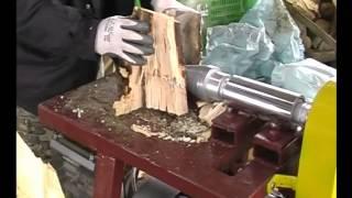 getlinkyoutube.com-Despicator lemne, electric