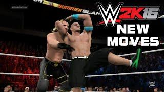getlinkyoutube.com-WWE 2K16 New Moves & Finishers, Springboard Stunner, Pop-Up Powerbomb, Wishlist!
