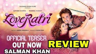 Loveratri Teaser Out   Salman Khan   Ayush Sharma   Warina Hussain   Abhiraj Minawala   5th October