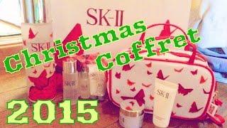 getlinkyoutube.com-クリスマスコフレ2015【sk2(SK-II)】フェイシャルトリートメント エッセンス ビューティフル  レッド リミテッド エディション&DS Haul