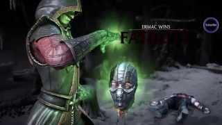 getlinkyoutube.com-All Mortal Kombat X Fatalities and X-Ray Moves On Sub-Zero