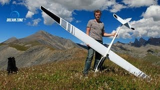 getlinkyoutube.com-Flying into the wild (Emparis) with an Alpina 4001 Pro Tangent - RC electric glider