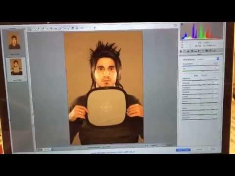 سناب فوتوغرافي : استخدام الكرت الرمادي لضبط الوايت بالانس