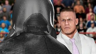 getlinkyoutube.com-WWE 2K17 Story - John Cena Exposes Masked Man?