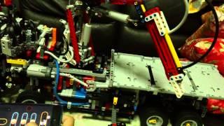 getlinkyoutube.com-Lego Technic 42043 SBRICK RC Mod Test