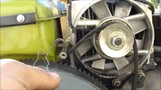 getlinkyoutube.com-ЗУБР Q79E Как я снимал генератор не снимая топливного бака!