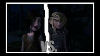 getlinkyoutube.com-♥HTTYD♥ Black Widow (AMV) Contest Astrid OR Heather?