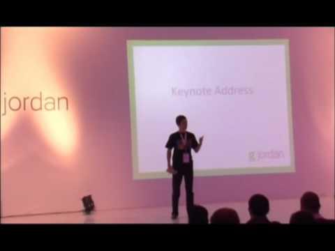 GJordan - Keynote - Aiming Bigger than ourselves - Wael Ghonim - 13Dec2010