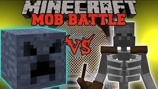 getlinkyoutube.com-MEGABLOCK VS MUTANT SKELETON - Minecraft Mob Battles - Mutant Creatures and BossCraft 2 Mods