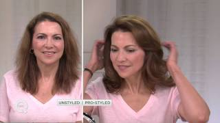 getlinkyoutube.com-Caj Beauty 3-in-1 Volumizing Brush with Clips with Pat James-Dementri