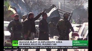 Afghanistan attack: Massive blast in diplomatic area of Kabul kills at least 95, injures 160