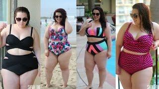getlinkyoutube.com-Swimsuit Lookbook 2015 | Plus Size Fashion | Sarah Rae Vargas