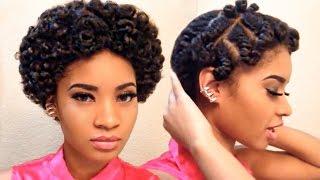getlinkyoutube.com-Flat Twistout: On Short Natural Hair (NO SOUND)