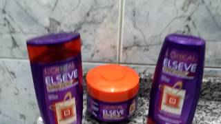 getlinkyoutube.com-Elseve Supreme Control 4D L'Oréal Paris(Shampoo, Condicionador e Máscara)