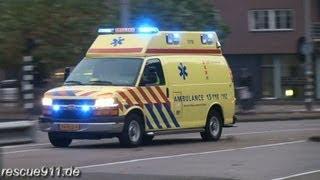 getlinkyoutube.com-Ambulance GGD Amsterdam (collection)
