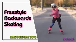 getlinkyoutube.com-Backwards skating with transitions