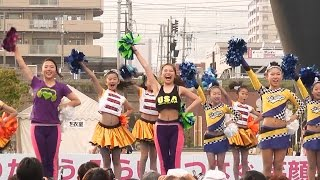 getlinkyoutube.com-チアダンスKOBE☆DIVA  長田  神戸まつり・Chia Dance KOBE ☆ DIVA  Kobe Festival