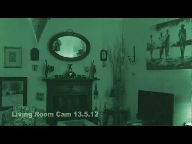 Scary Ghost Orbs in Denbigh House