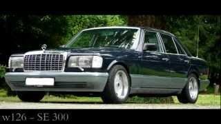 getlinkyoutube.com-Mercedes Benz w126 300 SE