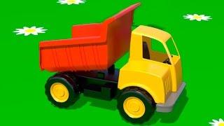 getlinkyoutube.com-Cartoni Animati per Bambini - Costruire un camion e imparare a contare - sul parco giochi