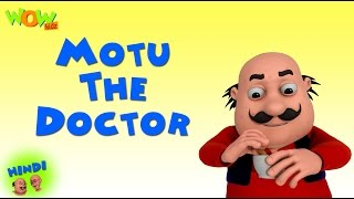 Motu The Doctor - Motu Patlu in Hindi WITH ENGLISH, SPANISH & FRENCH SUBTITLES