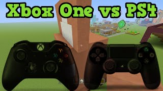 getlinkyoutube.com-Minecraft Xbox One vs PS4 Review
