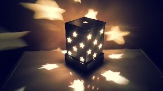 How To Make A Starry Cardboard Lampshade - DIY Home Tutorial - Guidecentral
