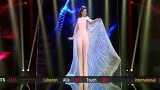 getlinkyoutube.com-Myriam Fares Deggou El Toboul Live Golden Mic ميريام فارس دقوا الطبول مباشر صوت الجيل الجديد