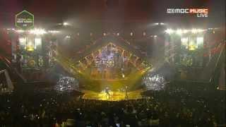 14.11.13 BTS - No More Dream + Raise of Bangtan + Nice to meet you at 2013 Melon Music Award