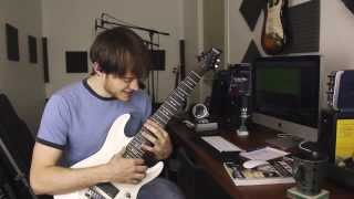 How to play Anchor (& my Schecter Omen-8)