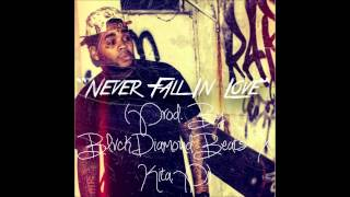 """*FREE* """"Never Fall In Love"""" (Kevin Gates/August Alsina Type Beat) R&B Banger"""