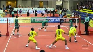 getlinkyoutube.com-Sepak Takraw Prince Cup 2014 - Navy vs. Army
