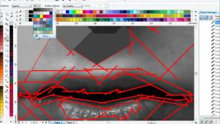 getlinkyoutube.com-Tutorial membuat WPAP di Corel Draw X6
