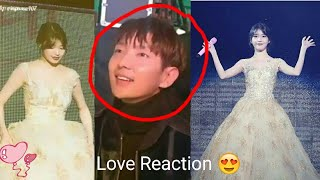 Lee JoonGi Love Reaction at IU's💞 when She Arrived As Beautiful Goddess @ IU Palette Concert Souel