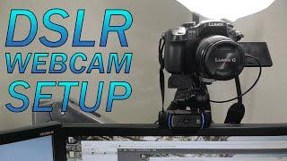 getlinkyoutube.com-How to Use a DSLR as a Webcam | BEST Setup (imho) | Panasonic GH3