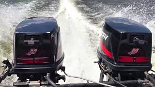 лодка с двумя вихрями