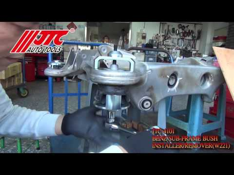 JTC 4101 - Набор инструментов для снятия и установки сайлентблоков подрамника (MERCEDES W221)