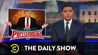 getlinkyoutube.com-President Trump's Bats**t Press Conference: The Daily Show
