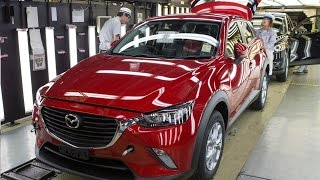 getlinkyoutube.com-First-Ever Mazda CX-3 production line in Japan
