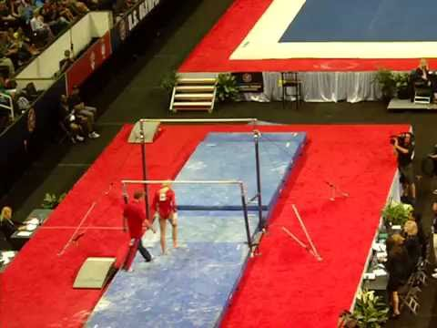 Nastia Liukin Bars - 2012 USA Gymnastics Olympic Trials Day 2