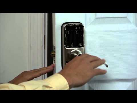 Yale Real Living Lever Lock Installation - Testing the Lock's Mechanical Operation 07