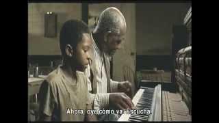 getlinkyoutube.com-Ray (2004) - Ray aprende a tocar piano