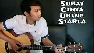 getlinkyoutube.com-(Virgoun) Surat Cinta Untuk Starla - Nathan Fingerstyle | Guitar Cover