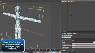 getlinkyoutube.com-Tutorial: Cinema4D - Einfaches Rigging