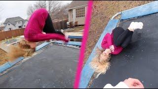 TEACHING MY GIRLFRIEND HOW TO FLIP! (EPIC FAIL)