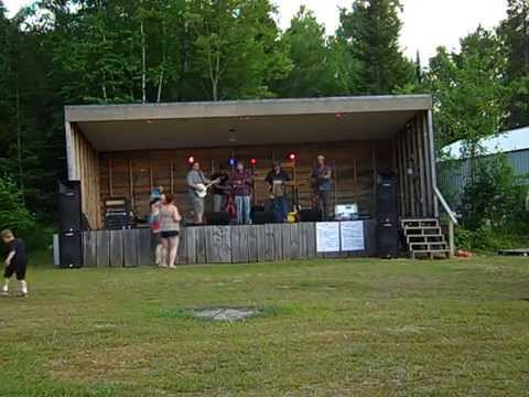 Hott Saxxx Ensemble, Backwoods Bluegrass Bash 2014