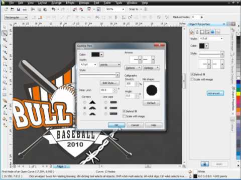 Secrets of CorelDRAW Brush Designs Pt. 6 - How-to