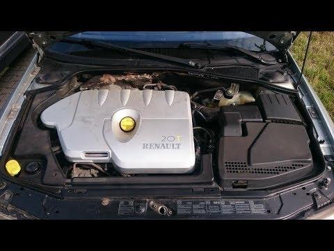 Wymiana filtra powietrza wraz z jego obudowa w Renault Laguna II